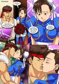Palcomix - Vega vs Chun Li - Crotch Wars