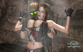 Epoch - Clara Ravens and Two mercenary thugs (Game)