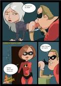 The INCREDIBLES More Comics and Arts (Hellen Parr)