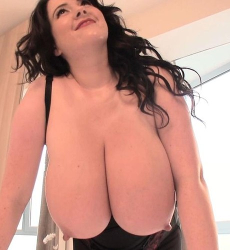 Rachel Aldana – Mega Busty Black Stitch Bra 1 720p