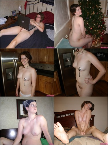 Hairy Mom Lisa Posing Nude