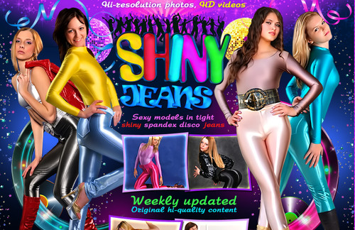 Shiny Jeans – SiteRip