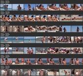 Nude at the Beach Topless Girls Filmed Voyeur (NudeBeach sb15009-15015)