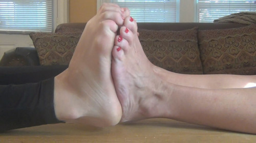 girl big feet measure