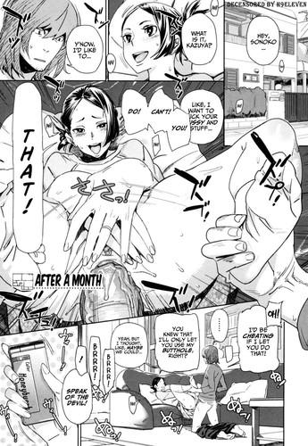 [Bobobo] After A Month (English Hentai Manga Decensored)