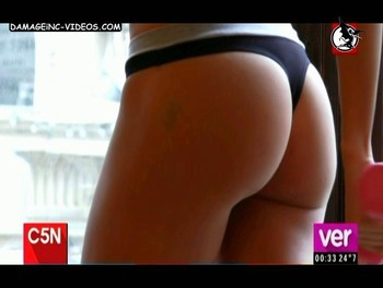 Candela Ruggeri tight ass in thong damageinc videos