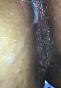 Creamy pussy submission