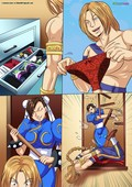Palcomix - Vega vs Chun Li - Crotch Wars