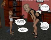 birthday party porn comic
