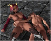Zafo - Caged Succubus