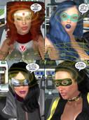 Metrobay comix - Trishbot - That VooDoo In You 1-4