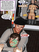 Metrobay comix - The Painting